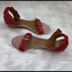 Sperry Top Sider Wedge Sandals